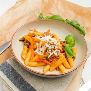 Goat & Pasta Mediterranean