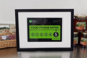 New Barn Farm Shop food hygiene rating