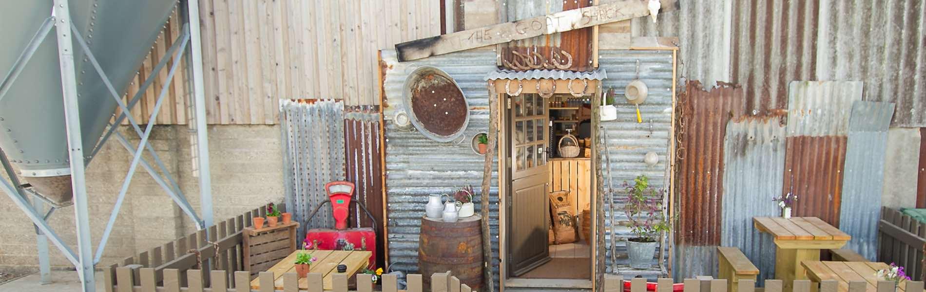 The Goat Shack Farm Shop Front