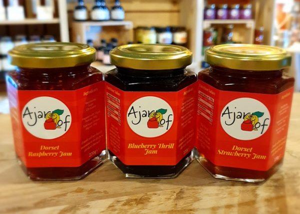 3 Jars Of A Jar Of Jams