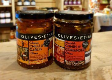2 jars of Olives