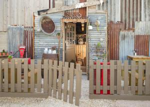 entrance to The Goat Shack Farm Shop
