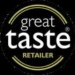 great taste retailer award badge